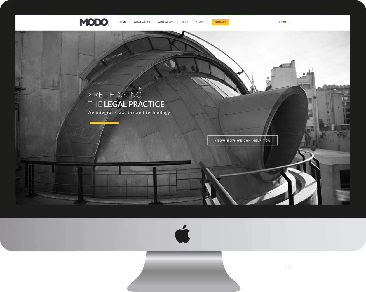 MODO Law website